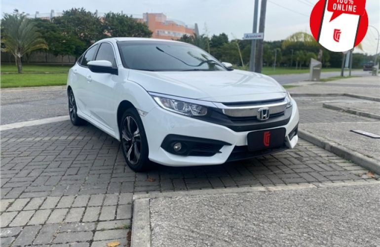 Honda Civic 2.0 16V Flexone EXL 4p Cvt - Foto #3