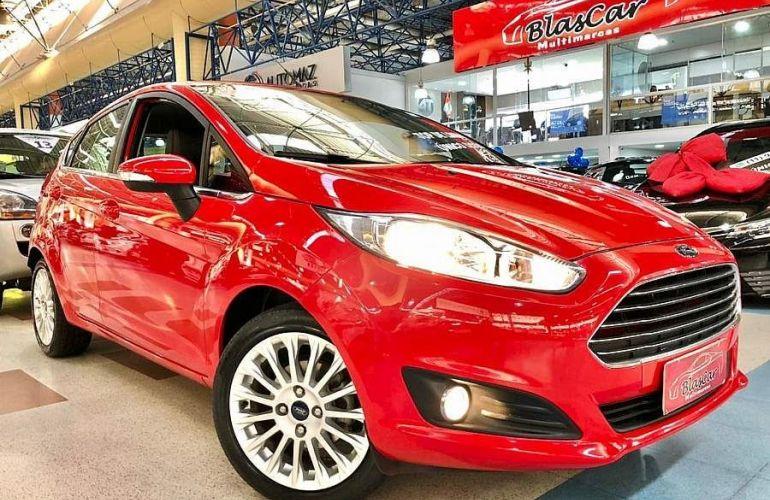 Ford Fiesta 1.6 Tivct Titanium - Foto #1