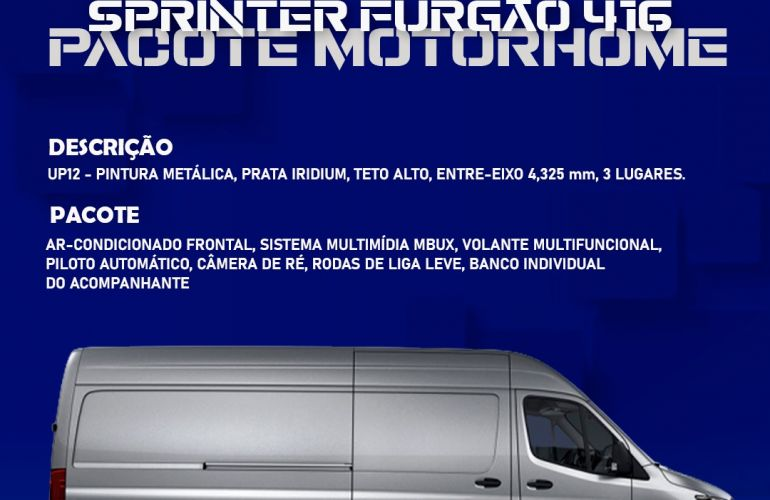 Mercedes-Benz Sprinter 2.2 CDI 416 Furgao TA 14m - Foto #1