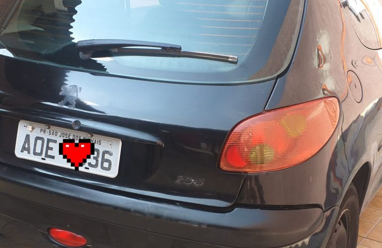 Peugeot 206 Hatch. Sensation 1.4 8V (flex) 2p - Foto #6