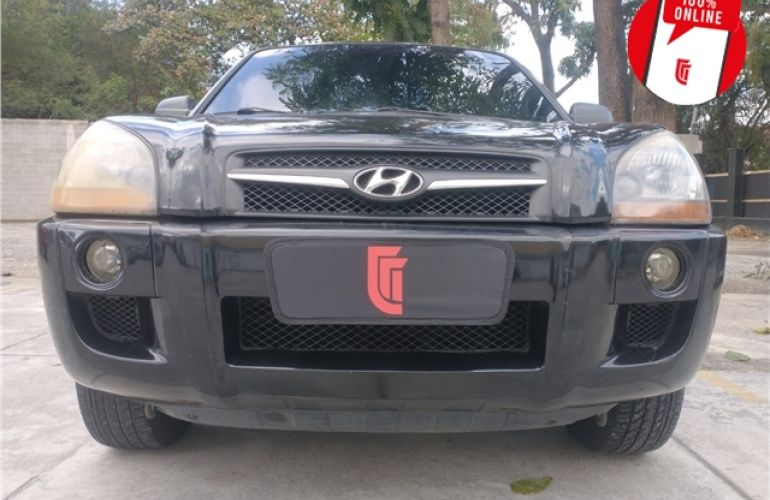Hyundai Tucson 2.0 MPFi GL 16V 142cv 2WD Gasolina 4p Automático - Foto #3