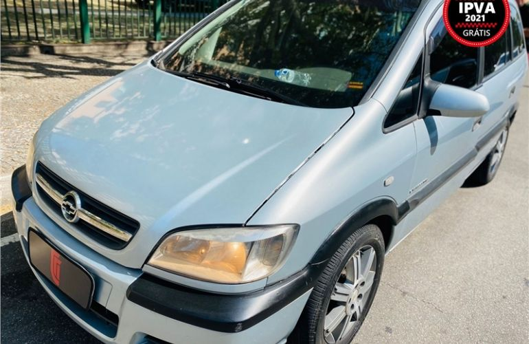 Chevrolet Zafira 2.0 MPFi Expression 8V Flex 4p Automático - Foto #1