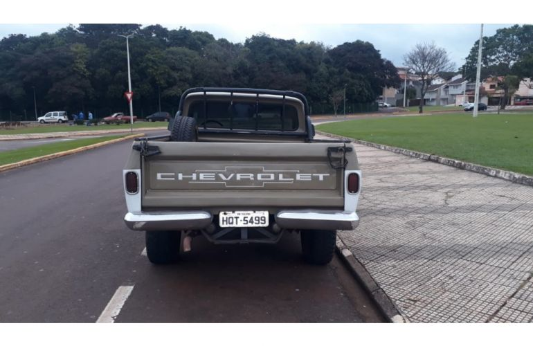 Chevrolet D10 Pick Up Custom Luxe 4.0 (Cab Simples) - Foto #4