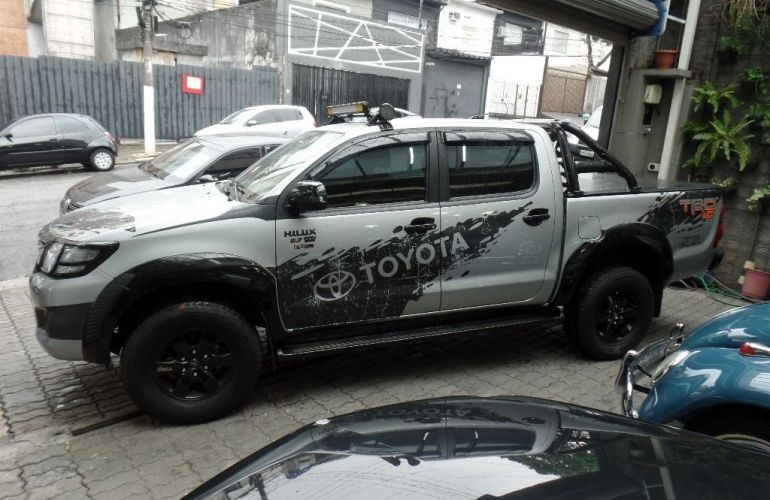 Toyota Hilux Srv 4x2 Cabine Dupla 2.7 16v - Foto #7