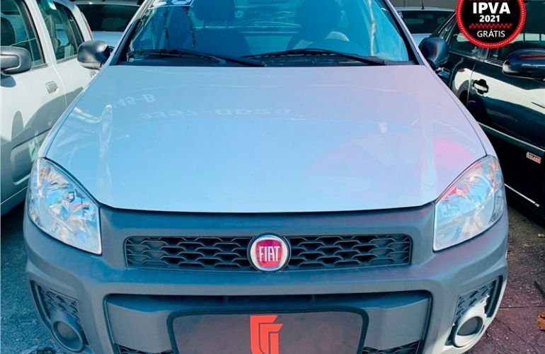 Fiat Strada 1.4 MPi Hard Working CE 8V Flex 2p Manual - Foto #2