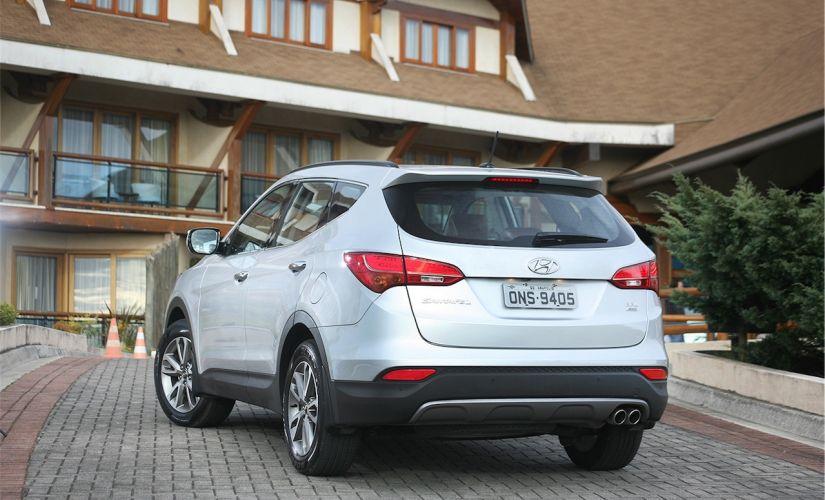 Hyundai Santa Fe 2018 Guia De Carros