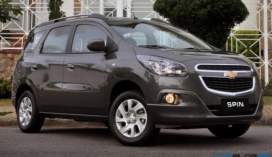 Chevrolet mostra os novos itens da Spin