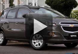 Vídeo: Chevrolet mostra os novos itens da Spin