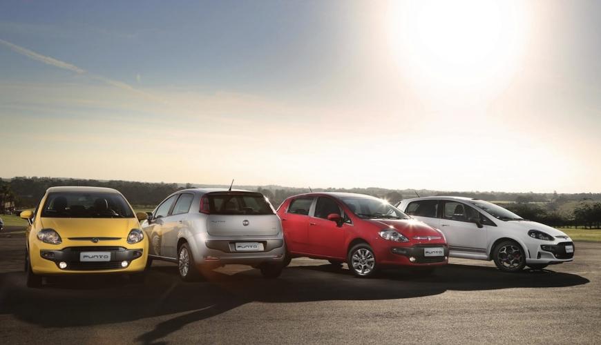 Fiat lança campanha do Punto 2013