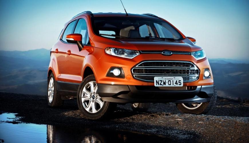 Ford mostra o processo de criação da nova Ecosport