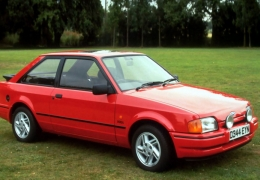 Clássico: Ford Escort XR3