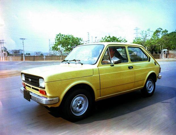 Fiat 147 - Primeiro sucesso da Fiat no Brasil