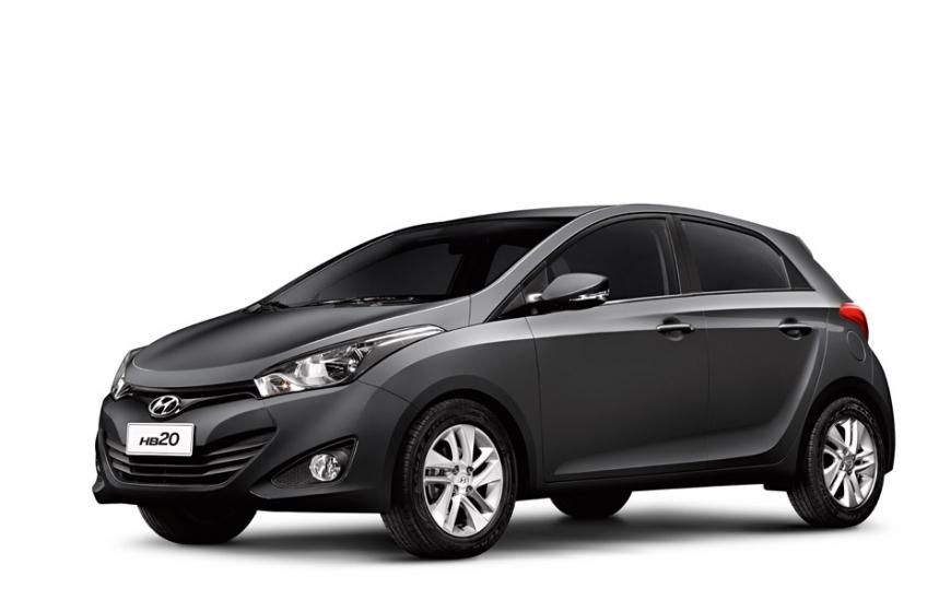 Hyundai HB20 - Preto