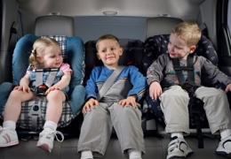 Segurança de crianças no carro
