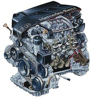 Motor V8 - Mercedes-Benz