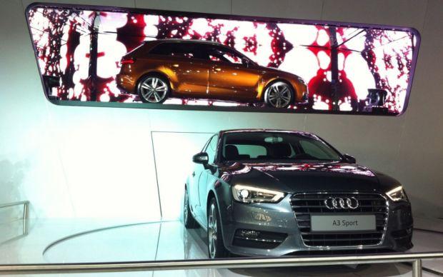 Salão de SP: Audi esbanja esportivos no seu estande