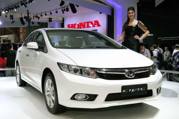 Salão de SP: Honda Civic vai ganhar motor mais potente