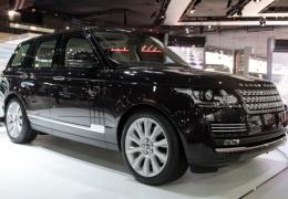 Salão de SP: Range Rover Vogue com design renovado
