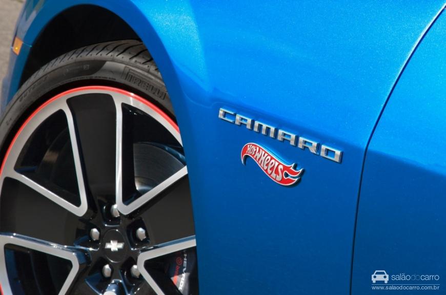 Camaro Hot Wheels - Detalhe da roda