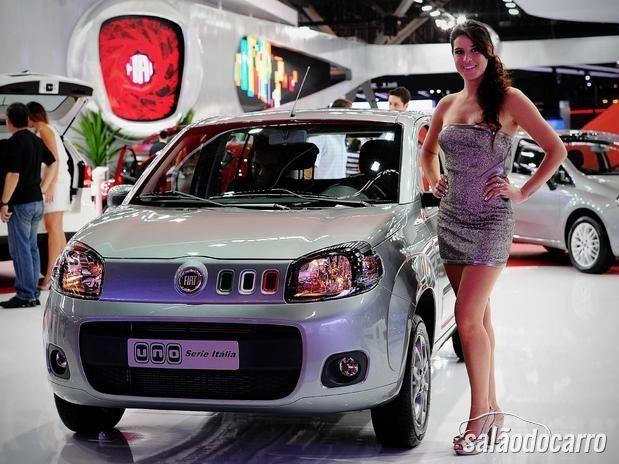 Novo Fiat Uno - Série Itália