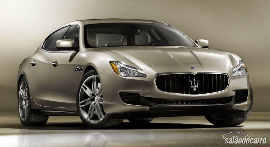 Maserati mostra novo Quattroporte