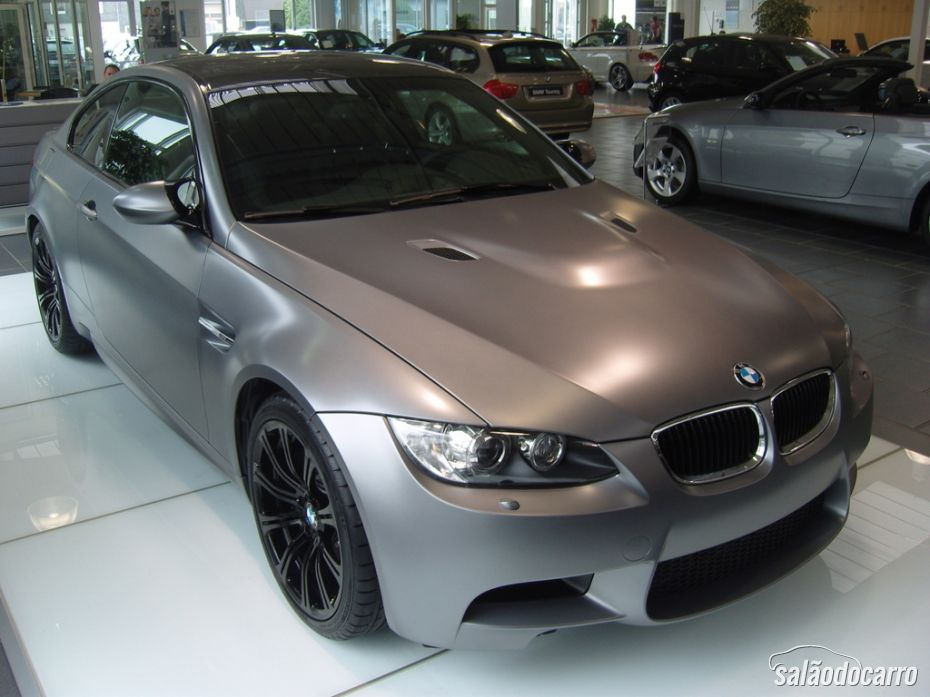 BMW M3 Frozen