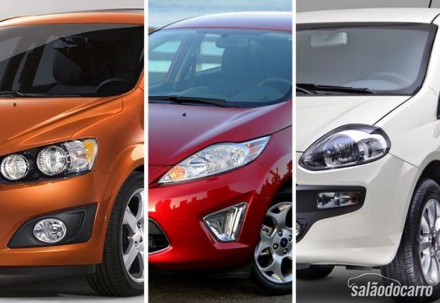 Compactos premium: Sonic x New Fiesta x Punto