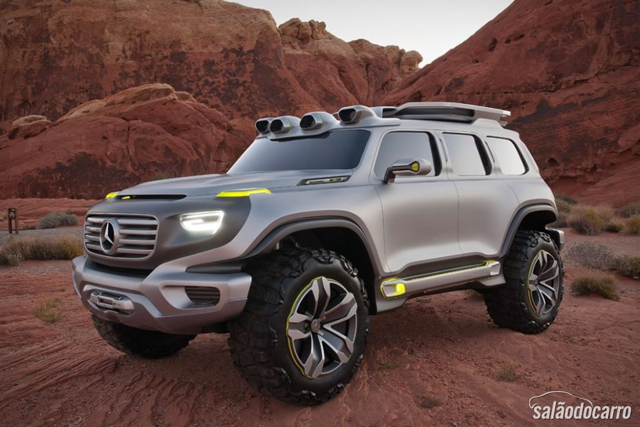 Mercedes-Benz mostra Jipe futurista