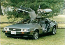 Clássico: DeLorean DMC-12 - 'de volta para o futuro'