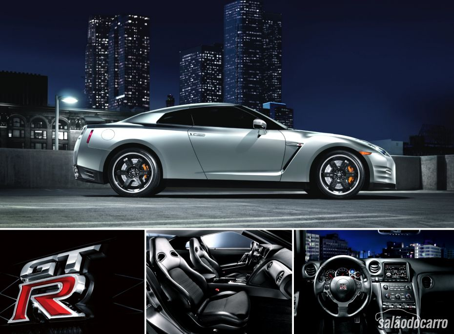 Novo Nissan GT-R