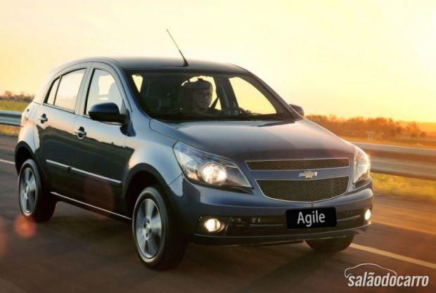 Chevrolet faz recall de Agile e Montana 2013
