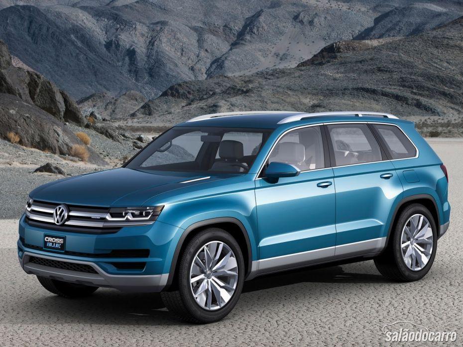 Volkswagen mostra o seu CrossBlue em Detroit