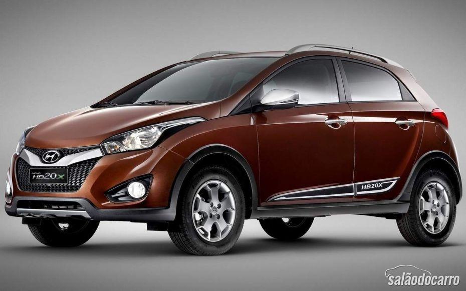 Hyundai lança HB20X