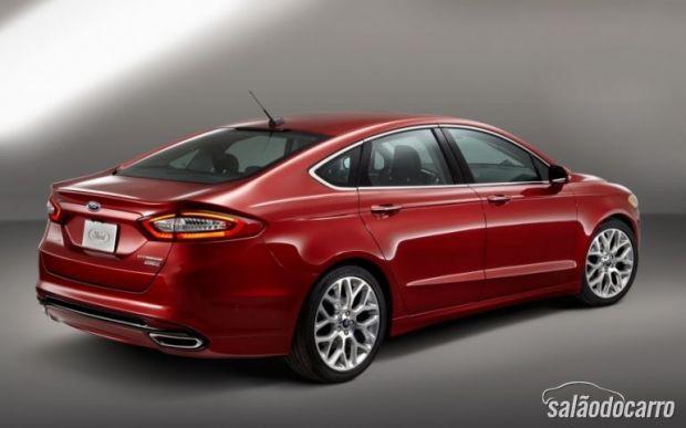 Novo Ford Fusion já está sendo vendido no Brasil