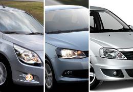 Sedans compactos: Cobalt x Voyage x Logan