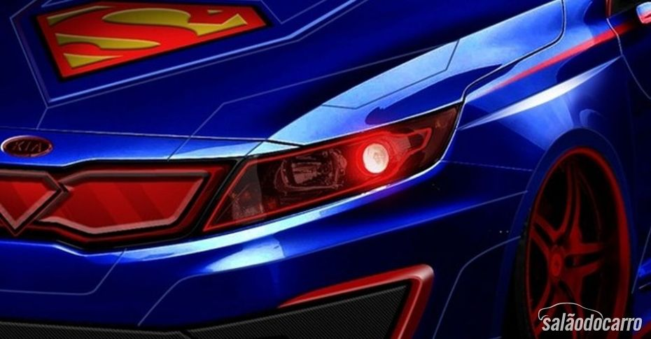 Kia lança versão do Optima comemorativa Superman
