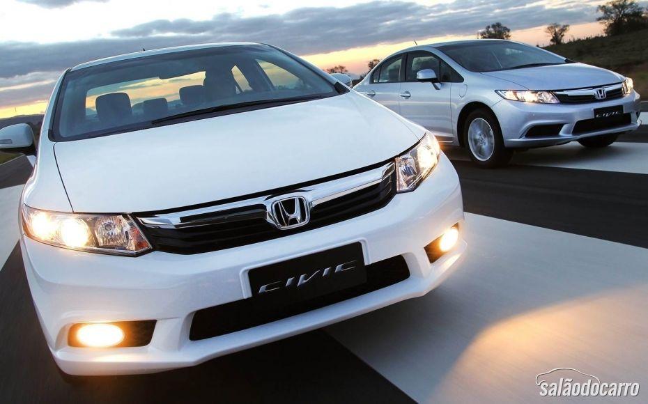 Honda Civic 2014 chega ao mercado nacional