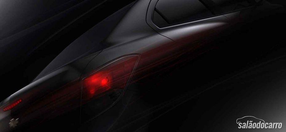 GM mostra foto do Novo Prisma