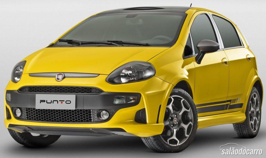 Fiat apresenta novo Punto T-Jet