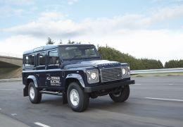 Land Rover terá elétrico e carro com nove marchas em Genebra