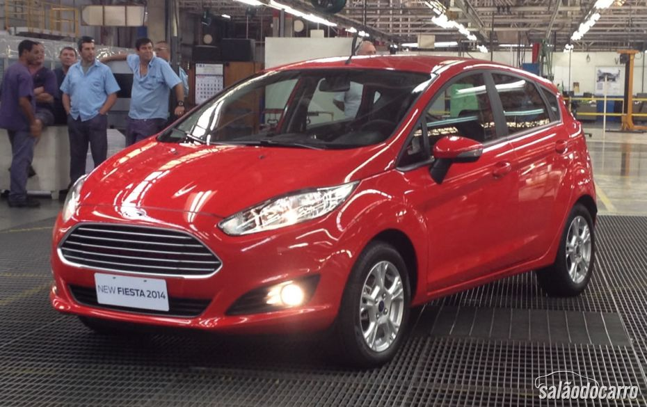 New Fiesta começa a ser produzido no Brasil