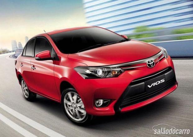 Nova geração do Toyota Vios é apresentada
