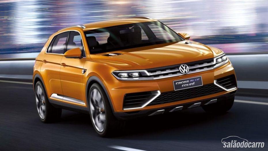 Volkswagen divulga imagens do conceito Crossblue Coupé