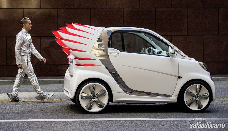 """Smart vai lançar carros com """"asas"""""""