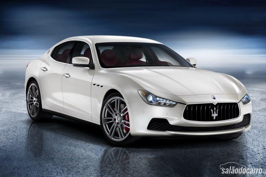 Maserati Ghibli será lançado no Brasil