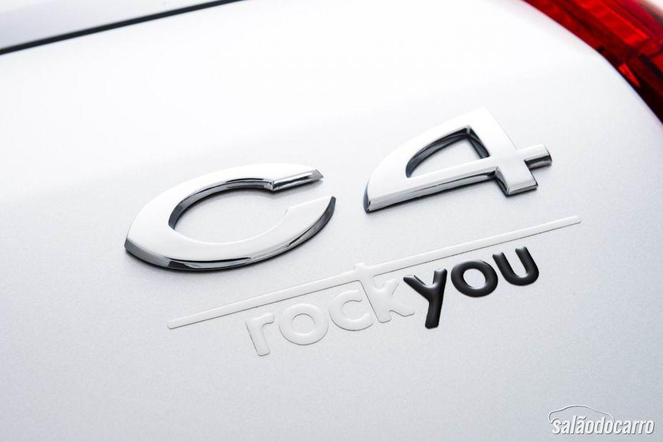 Citroën lança C4 versão Rock You