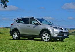 Teste da nova Toyota RAV4