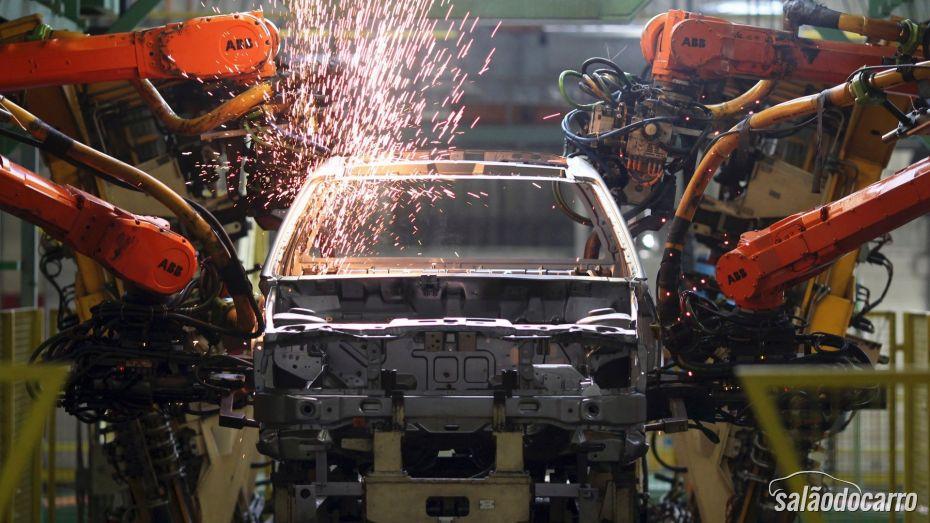 Produção de carros bate recorde no primeiro quadrimestre