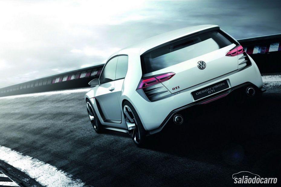 Volkswagen mostra novo conceito Golf Design Vision GTI