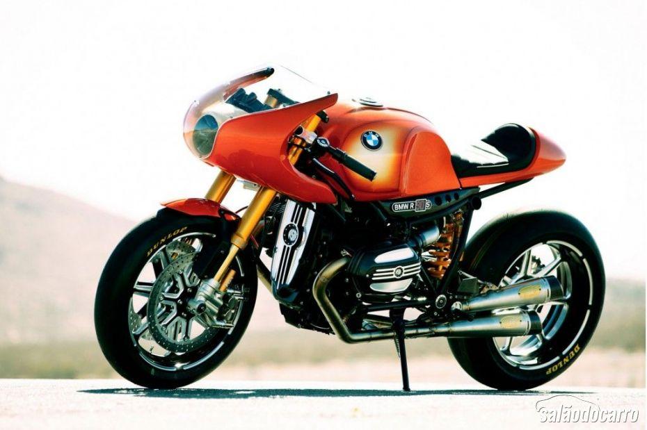 BMW mostra a moto conceito Ninety